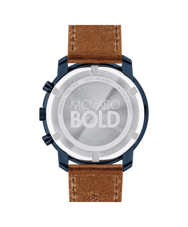 MOVADO Movado BOLD3600476 – Men's 44 mm strap watch - Back view