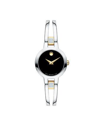 MOVADO Amorosa0607185 – Montre à bracelet-jonc de 24 mm pour femmes - Front view