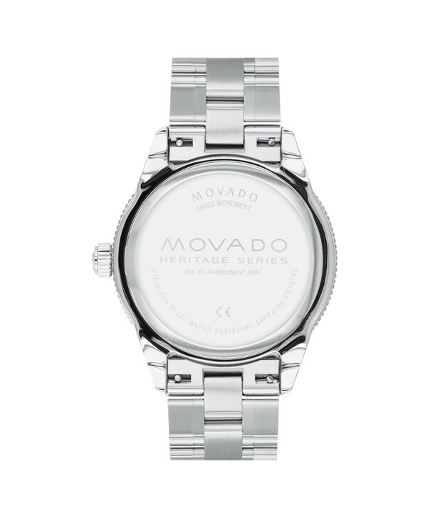MOVADO Movado Heritage Series3650094 – 43mm Heritage Series Calendoplan S Diver on Bracelet - Back view