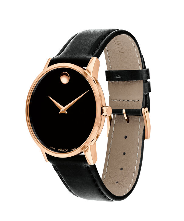 MOVADO Museum Classic0607272 – Men's 40 mm strap watch - Side view