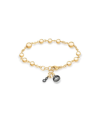 MOVADO Movado Sphere Bracelet1840022 – Yellow Gold Chain Bracelet With Beads - Front view