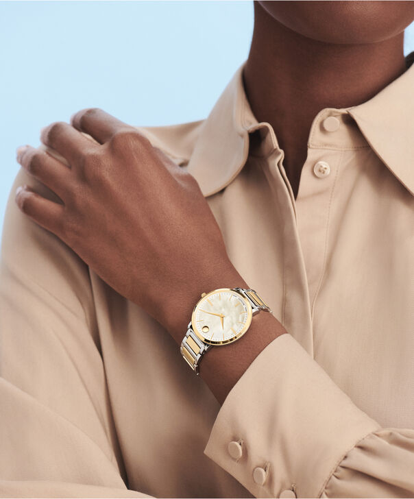 MOVADO Movado Ultra Slim0607171 – Women's 35 mm bracelet watch - Other view