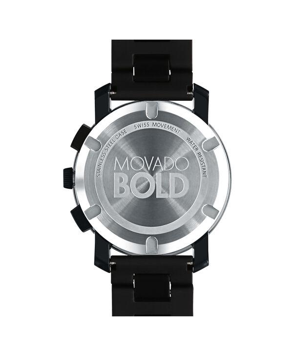 MOVADO Movado BOLD3600101 – 43.5 mm TR90 bracelet chronograph - Back view