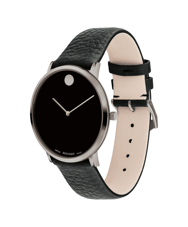 MOVADO Modern 470607334 – 40 mm Modern 47 on Textured Strap - Side view