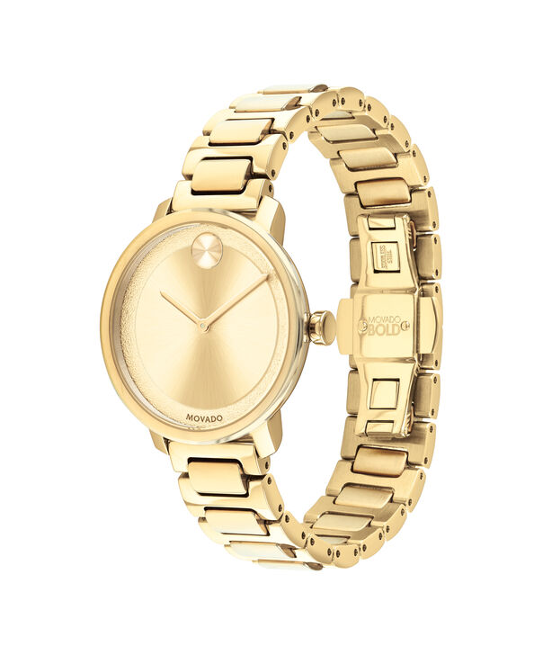 MOVADO Movado BOLD3600502 – 34 mm Metals bracelet watch - Side view