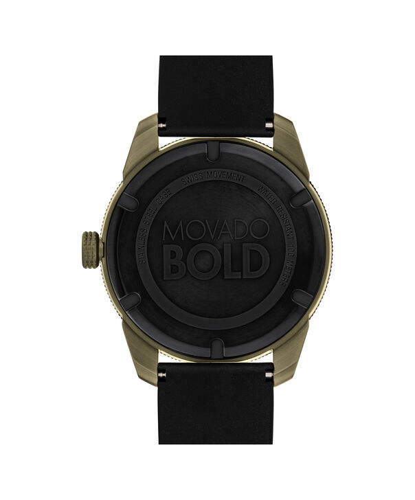 MOVADO Movado BOLD3600452 – 43.5 mm BOLD Sport strap watch - Back view