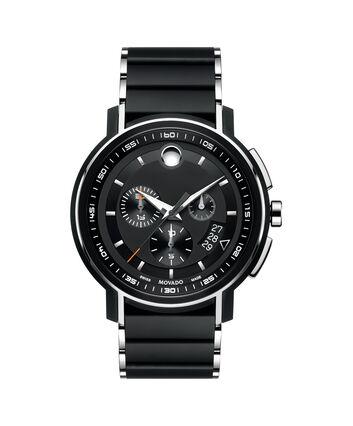 MOVADO Strato0607006 – Chronographe de 44 mm pour hommes - Front view