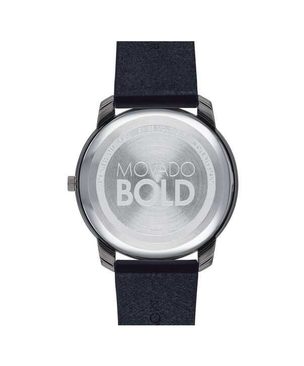 MOVADO Movado Bold3600586 – 42mm BOLD Thin on Strap - Back view