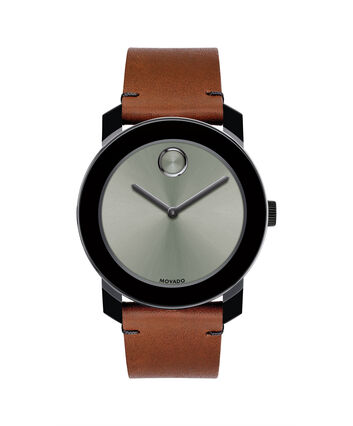 MOVADO Movado BOLD3600442 – 42mm Colorado leather strap watch - Front view
