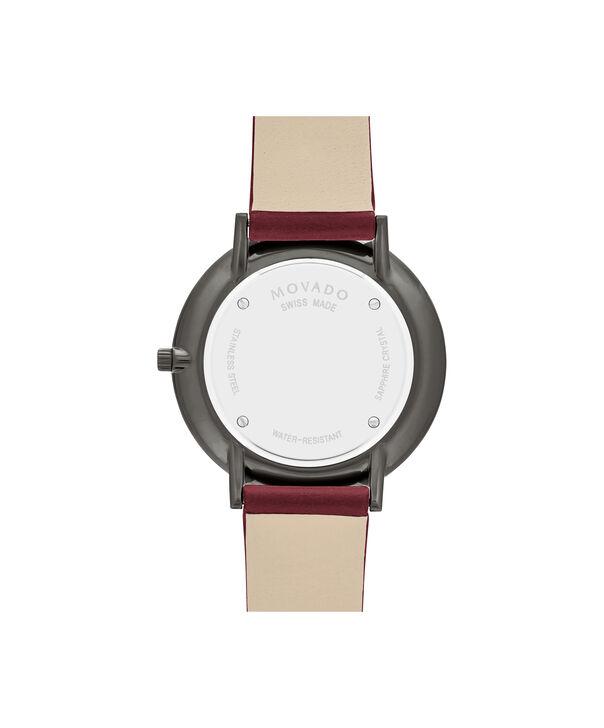MOVADO Modern 470607338 – Modern 47 de 35 mm, bracelet en cuir - Back view