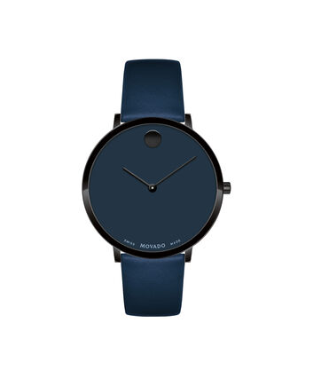 MOVADO Modern 470607339 – 35 mm Modern 47 on Strap - Front view