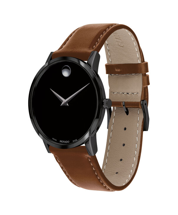 MOVADO Museum Classic0607273 – Men's 40 mm strap watch - Side view
