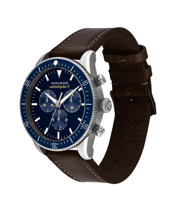MOVADO Movado Heritage Series3650061 – 42 mm strap chronograph - Side view