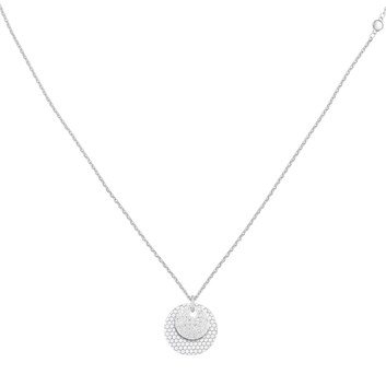 MOVADO Movado Disc Necklace1840014 – Silver Disc Chain Necklace - Front view