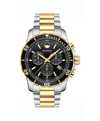 MOVADO Series 8002600146 – Men's 42 mm bracelet watch - Front view