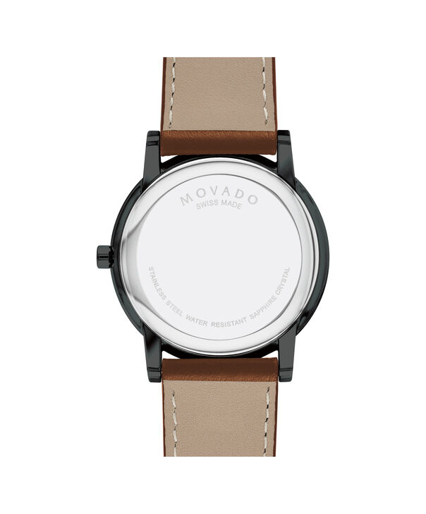 MOVADO Museum Classic0607273 – Men's 40 mm strap watch - Back view