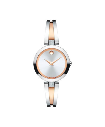 MOVADO Aleena0607152 – Women's 27 mm bangle watch - Front view