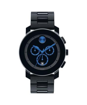MOVADO Movado BOLD3600101 – 43.5 mm TR90 bracelet chronograph - Front view