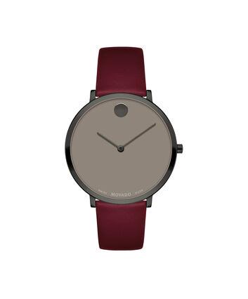 MOVADO Modern 470607338 – Modern 47 de 35 mm, bracelet en cuir - Front view