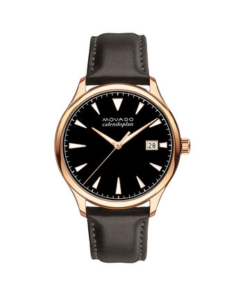 MOVADO Movado Heritage Series3650020 – Men's 42 mm strap watch - Front view