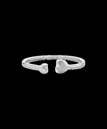 MOVADO Movado Heart Bracelet1840024 – Movado Heart Silver Bangle - Front view