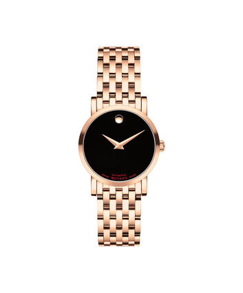 MOVADO Red Label0607064 – Women's 26 mm automatic bracelet watch - Front view