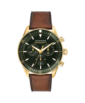 MOVADO Movado Heritage Series3650062 – 42 mm strap chronograph - Front view