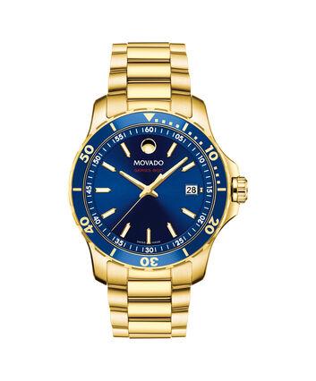 MOVADO Series 8002600144 – Men's 40 mm bracelet watch - Front view