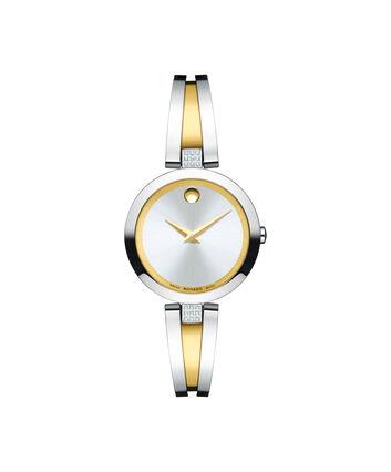 MOVADO Aleena0607159 – Women's 27 mm bangle watch - Front view