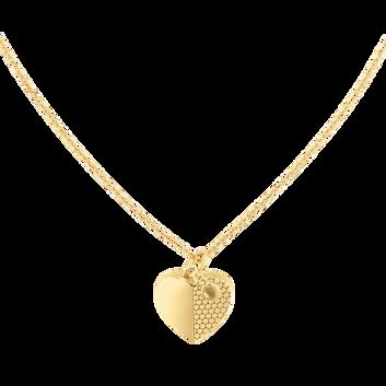 MOVADO Movado Heart Necklace1840028 – Movado Heart Gold Necklace - Front view