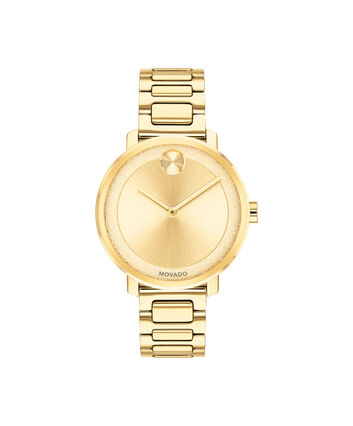 MOVADO Movado BOLD3600502 – 34 mm Metals bracelet watch - Front view