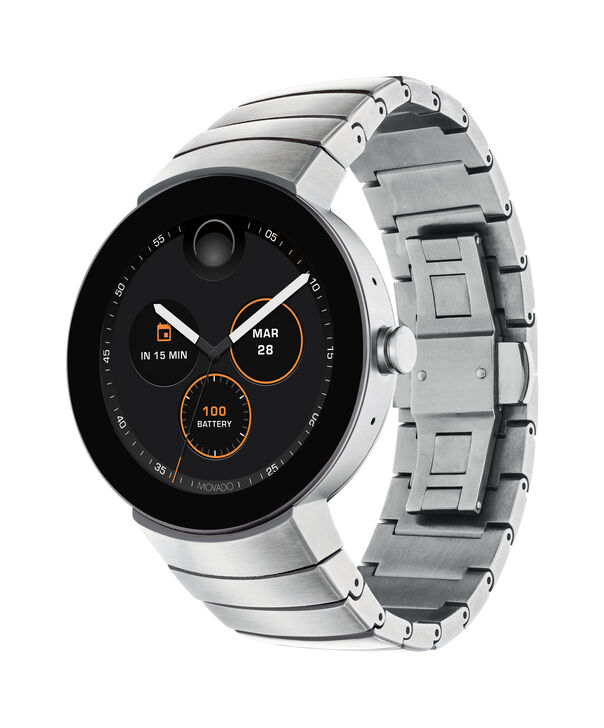 MOVADO Movado Connect3660017 – 46.5 mm display smartwatch - Side view