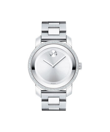MOVADO Movado BOLD3600149 – Montre de 36 mm à diamants - Front view