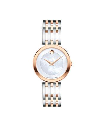 MOVADO Esperanza0607114 – Montre-bracelet à cadran de 28 mm pour femmes - Front view