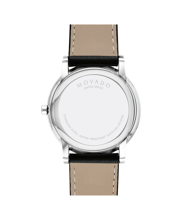 MOVADO Museum Classic0607269 – Men's 40 mm strap watch - Back view