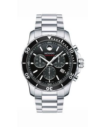 MOVADO Series 8002600142 – Men's 42 mm bracelet chronograph - Front view