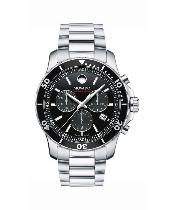 3ab7542f4 MOVADO Series 8002600142 – Men's 42 mm bracelet chronograph - Front ...