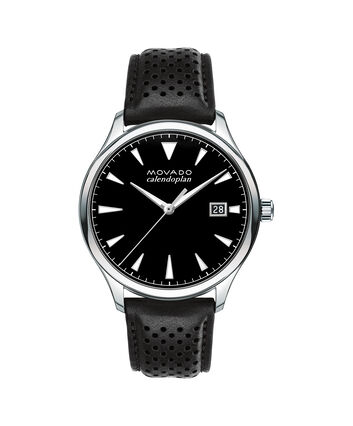 MOVADO Movado Heritage Series3650004 – Men's 40 mm strap watch - Front view